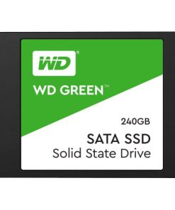 "WDS240G2G0A-Western Digital WD Green 240GB 2.5"" SATA SSD 545R/430W MB/s 80TBW 3D NAND 7mm 3 Years Warranty"