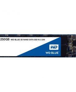 WDS250G2B0B-Western Digital WD Blue 250GB M.2 2280 SATA SSD 560R/530W MB/s 500TBW 3D NAND 5yrs Wty