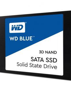 "WDS500G2B0A-Western Digital Blue 500GB 2.5"" 3D NAND SSD 7MM 550/530 R/W"
