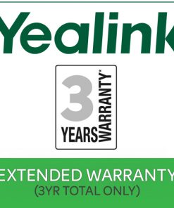 EXTWAR-YEA-3YR-3 Years Extended Return To Base (RTB)  Yealink Warranty $50 value