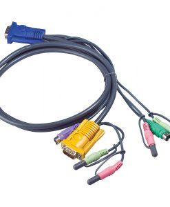 2L-5302P-Aten 1.8m PS/2 KVM Cable with Audio to suit CS173xB