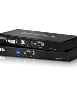 CE600-AT-U-Aten USB Single Link DVI KVM Console Extender with Audio  RS232 - 1920x1200