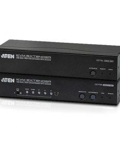 CE775-AT-U-Aten USB Dual VGA Cat 5 KVM Extender with Deskew