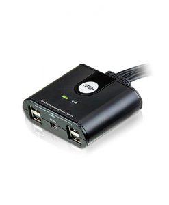 US424-AT-Aten 4 Port 4 x USB Peripheral Sharing Device