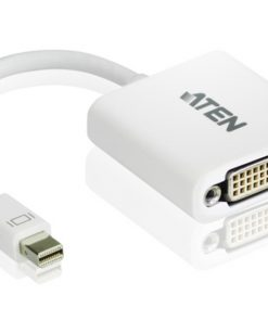 VC960-AT-Aten Mini DisplayPort(M) to DVI-D(F) Adapter -Premium series with EMI Shielding