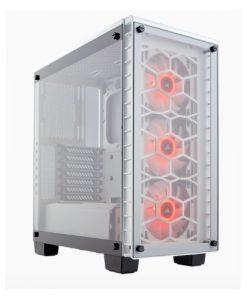 CC-9011129-WW-Corsair 460X RGB White Crystal Series. 3x 120mm RGB LED Fan
