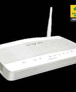 DV2133N-Draytek Vigor2133N Wireless Gigabit Broadband Firewall Router 450Mbps 3G/4G USB LTE with WAN 4xGigabit LAN 2xVPN 11n WiFi backup support VigorACS SI
