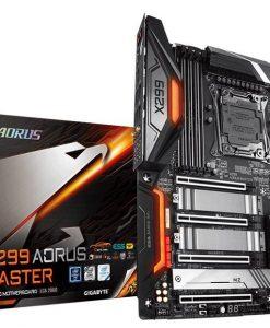 X299 AORUS MASTER-Gigabyte X299 AORUS Master LGA2066 12 Phases Digital VRM 8xDDR4 4xPCIe3.0 3xM.2 RAID Intel GbE LAN 8xthSATA USB3.1 Type-C Thunderbolt CF/SLI 2xwaRGB