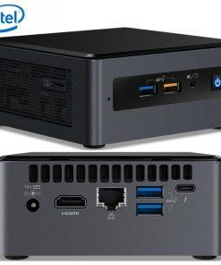 """BOXNUC8I3BEH4-Intel NUC mini PC i3-8109U 3.6GHz 2xDDR4 SODIMM 2.5"""" HDD M.2 PCIe SSD HDMI USB-C (DP1.2) 3xDisplays GbE LAN WiFi BT 6xUSB DS POS"""