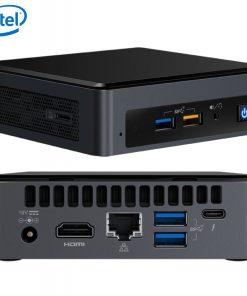 BOXNUC8I3BEK4-Intel NUC mini PC i3-8109U 3.6GHz 2xDDR4 SODIMM M.2 PCIe SSD HDMI USB-C (DP1.2) 3xDisplays GbE LAN WiFi BT 6xUSB Digital Signage POS