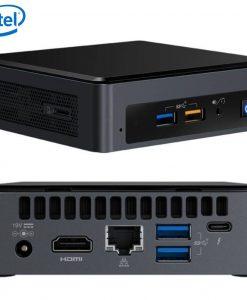 BOXNUC8I5BEK4-Intel NUC mini PC i5-8259U 3.8GHz 2xDDR4 SODIMM M.2 SATA/PCIe SSD HDMI USB-C (DP1.2) 3xDisplays GbE LAN WiFi BT 6xUSB DS POS ~BOXNUC8I5BEH4