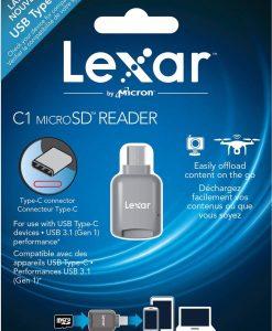 LRWMCBAP-Lexar microSD to USB TypeC Adapter Reader
