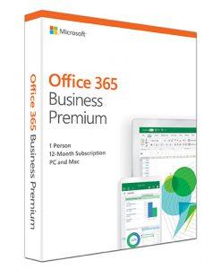 KLQ-00431-Microsoft Office 365 Business Premium Retail English 1YR Subscription Media less