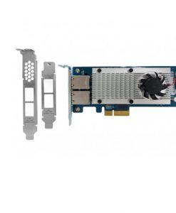 LAN-10G2T-X550-QNAP LAN-10G2T-X550 Dual-port 10 Gigabit Network Rackmount/Tower Expansion Card