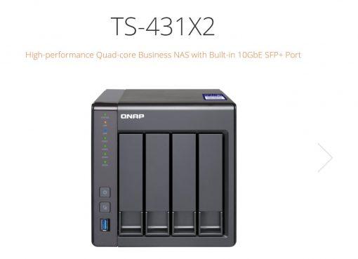 TS-431X2-8G-QNAP TS-431X2-8G