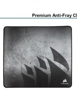 CH-9413561-WW-Corsair MM350 Premium Anti-Fray Cloth Gaming Mouse Pad. Extra Large Edition 450mm x 400mm x 5mm