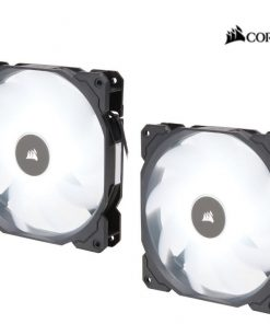 CO-9050088-WW-Corsair Air Flow 140mm Fan Low Noise Edition / White LED 3 PIN - Hydraulic Bearing