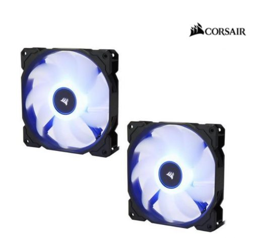 CO-9050090-WW-Corsair Air Flow 140mm Fan Low Noise Edition / Blue LED 3 PIN - Hydraulic Bearing