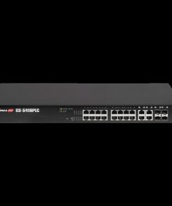GS-5416PLC-Edimax Long Range 16-Port Gigabit PoE+ Web Smart Switch with 4 RJ45/SFP Combo Ports