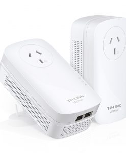TL-PA9020PKIT-TP-LINK PA9020P AV2000 2-Port Gigabit Passthrough Powerline Starter Kit