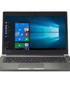 "PT263A-16N00T-Toshiba Portege Z30 Ultrabook 13.3"" FHD Touch Intel i5-6200U 8GB DDR3L 256GB SSD Windows 10 Pro 1.36kg 15.9mm 3yrs wty Backlit Keyboard 11hrs TPM2.0"
