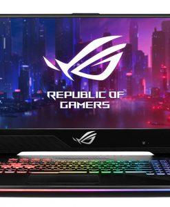 GL704GW-EV022T-Asus ROG GL704GW Strix Scar II Gaming Notebook 17.3'' FHD 144Hz i7-8750H 16GB DDR4 512GB SSD RTX2070 8GB 3ms Windows 10 RGB Backlit KB VR 2.4kg