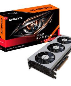 GV-RVEGA20-16GD-B-Gigabyte AMD Radeon VII HBM2 16GB PCIe Video Card 8K 7680x4320@60Hz 4xDisplays 3xDP 1xHDMI 1750/1400 MHz 7nm FreeSync VR Ready