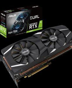 DUAL-RTX2080TI-A11G-ASUS nVidia DUAL-RTX2080TI-A11G GeForce RTX2080TI Advanced Edition 11GB GDDR6