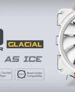 C400 Glacial-Antec C400 GLACIAL White Air CPU Cooler 77 CFM