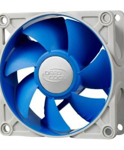 UF 80-Deepcool Ultra Silent 80mm x 25mm Ball Bearing Case Fan with Anti-Vibration Frame PWM