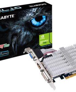GV-N730SL-2GL-Gigabyte nVidia GeForce GT 730 2GB Video Card DDR3 4K HDMI DVI VGA Low Profile Silent Passive Cooling 902 MHz (~GV-N730-2GI)