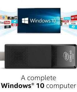BOXSTK2M3W64CC-Intel Compute Stick Mini PC Windows 10 Home Quad-Core m3-6Y30 2.2GHz 4GB DDR3L 64GB eMMC HDMI MicroSD WiFi BT 3xUSB Portable PlugPlay BOXSTK2M3W64CC