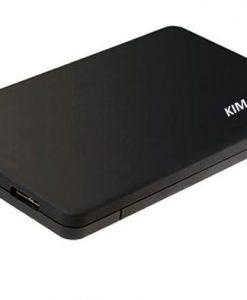 """BS-MR23K-KIMAX 2.5"""" USB 3.0 SATA Screwless  external HDD Enclosure Black"""