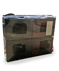 PSBC4-Pow erShield Clamshell Battery Pack 4 Includes 4 x 12V*9AH to suit PSCERT2000SB    **Short Base Model Only **