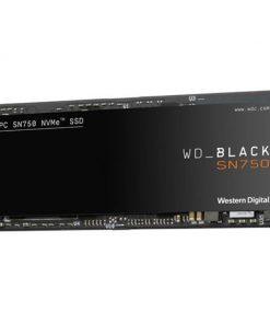 WDS100T3X0C-Western Digital WD Black SN750 1TB NVMe SSD 3430MB/s 3000MB/s R/W 600TBW 515K/560K IOPS M.2 2280 PCIe Gen 3 5yrs wty