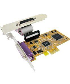 IDSUN-PAR5418A-Sunix PAR5418A PCIE 2-Port Parallel IEEE1284 Card