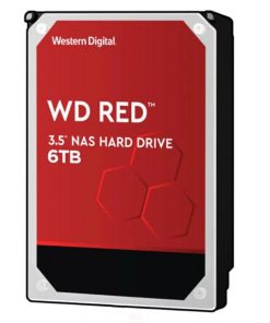 "WD60EFAX-Western Digital WD Red 6TB 3.5"" NAS HDD SATA3 5400RPM 256MB Cache 24x7 NASware 3.0 SMR Tech 3yrs wty"