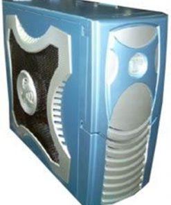 CAATXCLIOBLUE-XClio Gamer ATX Midi Case - BLUE w/o PSU Therm& noise reduction (LS)
