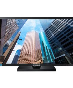 "LS24E65KBWV/XY-Samsung 24"" E65 FHD PLS Monitor 1920x1200 16:10 4ms 60Hz Height Adjust Tilt Swivel Pivot VESA D-Sub DVI Eye Saver Mode Flicker Free"
