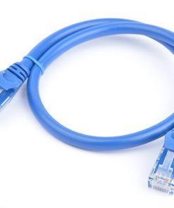 PL6A-0.5BLU-8Ware Cat6a UTP Ethernet Cable 0.5m (50cm) SnaglessBlue