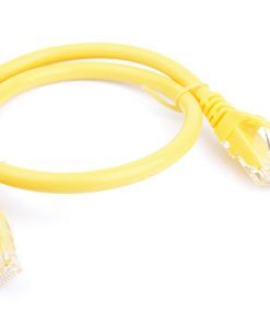 PL6A-0.5YEL-8Ware Cat6a UTP Ethernet Cable 0.5m (50cm) SnaglessYellow