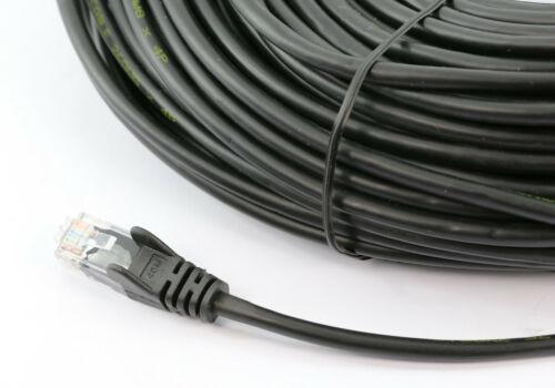 PL6A-20BLK-8Ware Cat6a UTP Ethernet Cable 20m SnaglessBlack