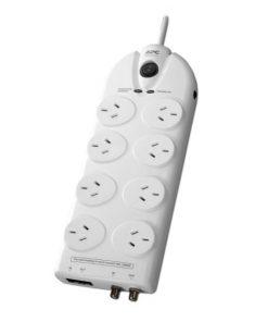 P86VN-AZ-APC Essential SurgeArrest 8 outlets with Coax  Network Protection
