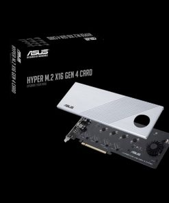 HYPER M.2 X16 GEN 4 CARD-ASUS HYPER M.2 X16 GEN 4 CARD Supports 4xPCIE3.0 4xM2