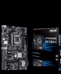 PRIME H510M-E-ASUS PRIME H510M-E Intel H510 (LGA 1200) Micro ATX Motherboard PCIe 4.0