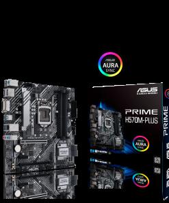 PRIME H570M-PLUS/CSM-ASUS PRIME H570M-PLUS/CSM Intel H570 (LGA 1200) M-ATX Motherboard PCIe 4.0