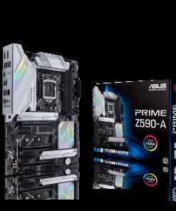 PRIME Z590-A-ASUS PRIME Z590-A Intel Z590 (LGA 1200) ATX motherboard with PCIe 4.0