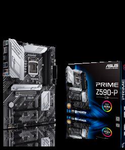 PRIME Z590-P/CSM-ASUS PRIME Z590-P/CSM Intel Z590 (LGA 1200) ATX motherboard PCIe 4.0 3xM.2 11 DrMOS Power Stages