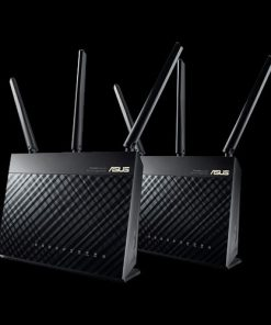 RT-AC68U V3(2-PK)-ASUS RT-AC68U V3 AiMesh Pack (2Pack) AiMesh AC1900 Whole Home WiFi System