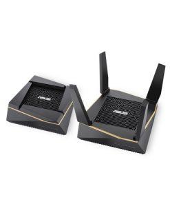 RT-AX92U(2-PK)-ASUS RT-AX92U AiMesh Pack (2Pack) AX6100 Tri-band Wi-Fi 6 (802.11ax) Router